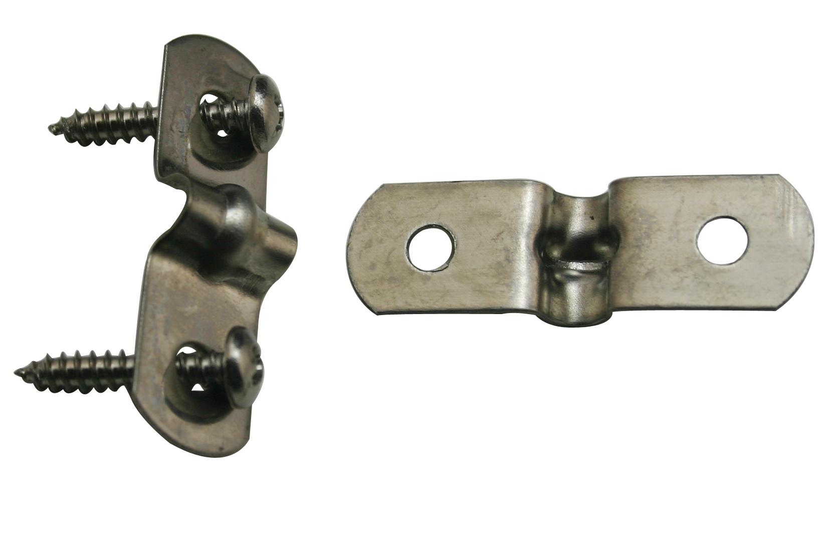 Steel Pipe Clips : Stainless steel inches diameter tension clip