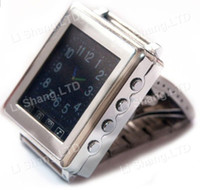 Wholesale AK810A Metal Watch Cell Phone Tri band Wrist quot Touch Screen LCD