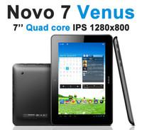 Wholesale Quad Core Tablet PC Ainol Novo Venus Android quot IPS GB RAM GB WiFi Dual Camera mAh