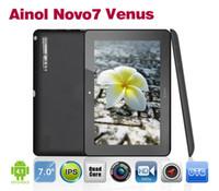 ainol 7 novo - Ainol Novo Venus Tablet PC inch IPS Capacitive x800 Quad Core GHz Android GB RAM G