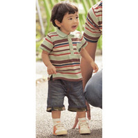 Wholesale baby sets striped tees boys suits children s outfits shorts T shirts pant jeans denim trouses C515