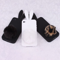 No iphone4s mobile phone - Special promotions Rabito bunny protective sleeve iphone4s mobile phone the shell itouch4 silicone r