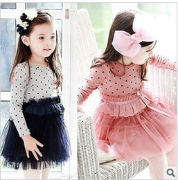 Wholesale 2013 new Children s girl fashion point Sportmax dress edison168