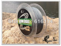 Wholesale 100m LB10LB15LB20LB30LB40LB50LB65LB80LB grey braided fishing line dyneema fishing tackle