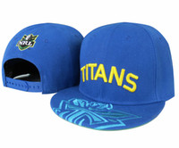 Wholesale TITANS Snapback Hats Snapback Hat Snap backs Caps Snapbacks hats Colour NRL SNAPBACKS
