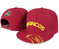 Wholesale Snapback Hats BRONCOS Snapback Hat Snap backs Sports Caps RED NRL SNAPBACKS