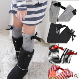 Wholesale Children s socks joker tall canister socks bowknot princess socks