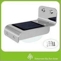IP68   Garden Light Solar Panel 2015 Sale Rushed No Brand Ip68 Energia Solar Energy Wall Lamp Voice Control 16 Led Light Corridor Balcony Table