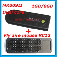 Wholesale New arrival MK809 II Android Mini PC HDMI Dual core GB RAM GB Bluetooth MK809II D Fly air
