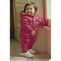 Wholesale 2014 Retail Fashion Baby Wear Baby Romper for Winter Cotton Padded one piece Children Kids Jumpsuit