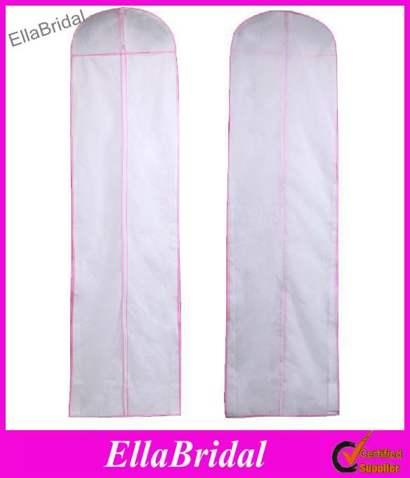 No logo wedding dress bag garment cover travel storage for Wedding dress travel bag
