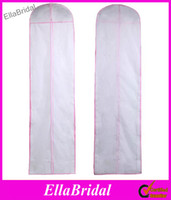 Wholesale No Logo Wedding Dress Bag Garment Cover Travel Storage Dust Cover Plus Size cm Long