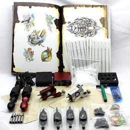 Wholesale New Rotary Tattoo Machines Guns Kits Set Mini Power Supply For Tattoo Supply