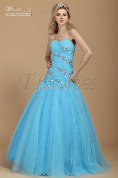 Prom dresses ball gowns 2013 - Dress on sale