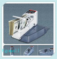 Wholesale V40 New Mini Portable Bill Cash Handy Count Money Currency Counter Counting