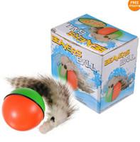 Weazel Weasel Rolling Motor Ball Pet Cat Dog Kids Toys Chase...