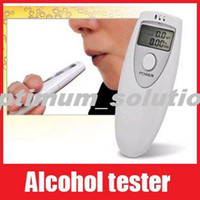 Wholesale Mini Breath Alcohol Tester Breathalyzer Led Display Alcohol Tester Drop Shipping