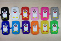 Cheap Silicone Penguin case Best For Samsung  S3 mini case