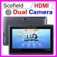 Wholesale Q8 Q88 Inch Android Dual Camera With HDMI Actions ATM Tablet PC Capacitive Touch Screen
