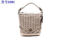 mcm bag - MCM handbag with clain MCM shoulder Rivet Purse colours new styles mcm bags