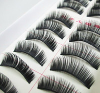 Wholesale New Pair Thick Long False Eyelashes Eyelash Eye Lashes Voluminous Makeup