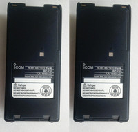 Wholesale ICOM BP BP BP BP209 BP210 NI MH battery mAh and free fast shipping