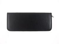 Wholesale Hair scissors case Black leather case for Scissors NEW