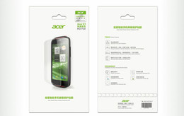 Wholesale Newest HD phone Front Screen Protector Cover protection film for Acer Liquid E1