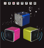 Wholesale Mini Speaker MD07 Music Angel With FM Support TF Card Portable Digital Speaker USB Multimedia Free