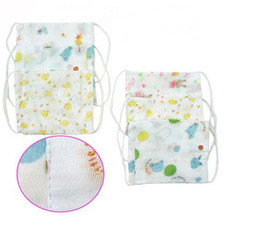 Wholesale Mix color Printing cotton gauze bike mask breathing mask eye mask anti dust mask veil