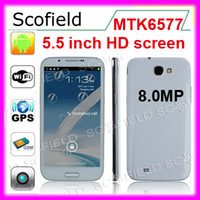 Wholesale N7100 Inch HD IPS Screen MTK6577 Dual Core G Android OS Smartphone MP Camera MB GB