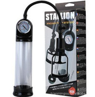 Penis Pump best toy vacuum - Best penis pumps Piston vacuum system Pump With Gauge Handle penis enlargement enlarger man sex toys