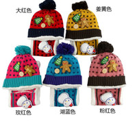 baby girls accessories - 2013 Children Cap boy hat scarf girl hats Korean winter baby Accessories lovely kid caps