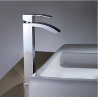 Wholesale Copper hot and cold counter basin faucet