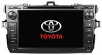 Toyota Corolla Viejo coches reproductor de DVD 7 # 039; # 039; Pantalla táctil Mstar776 DVD + libro + Teléfono función ATV USB 2.0 OTG, ANFITRIÓN interfaceSWC + BT + IPOD + Radio / RDS