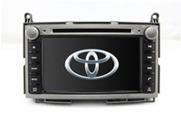 Wholesale 2 Din Auto Radio Car DVD Player GPS Navigation for Toyota Venza with Bluetooth TV Map USB