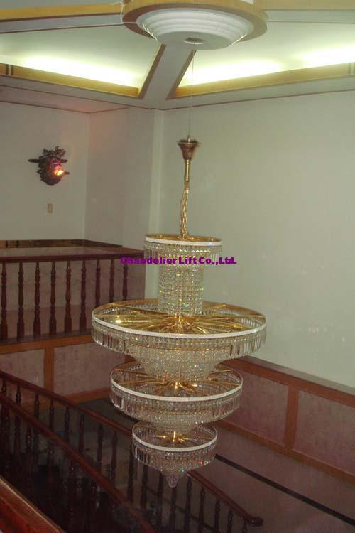 Crystal Chandelier Hoist Chandelier Lift Lowing System Lighting – Chandelier Lift System