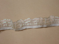 Wholesale sewing textile stretch lace elastic trim elastic ribbon nylon tape strap for underwear trinket