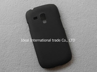 Wholesale 1pcs high quality mobile cell phone black hard cover case for samsung GALAXY S3 SIII mini S III i819