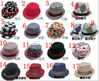 Wholesale Baby kids children s Caps Baby accessories hat boys grils hats fedora hat mixed color