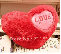 Wholesale wedding gifts Stuffed amp Plush Soft plush toy Red Love Heart shaped toy lovely pillow