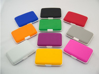 Card Holders Credit Card Unisex NEW High Quality Hot Silicone Card Wallets Credit Card Holder Wallets Cases Card Holders Bank Card Case 10 Colors Can Miix Order