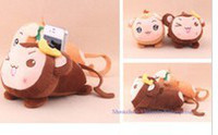 Phone Holder;   Banana Monkey Plush Cell Mobile Phone Stand Holder Pouch Case RACK DOLL; Car & Home Phone Holder