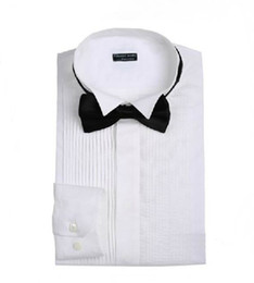 Wholesale New Men Wedding Prom Groom Shirts Ready to Wear Bridegroom Shirt A11N