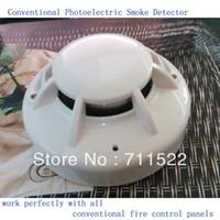 smoke detectors - Conventional Fire Alarm Control System Smoke Detector Wire smoke alarm Conventional Optical Smoke alarm YT102