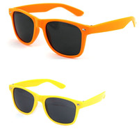 Wholesale Outdoor sunglasses imitation brand meters color beach full frame sunglasses men girls