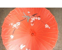 Wholesale Charming Oriental Parasol Fabric Cloth Umbrella Floral Pattern Wedding