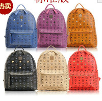 Wholesale Brand New Spring Fashion Classic MCM Rain BACKLEGEND Backpack Bag Shoulder Bags Elements Backpack
