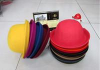 Wholesale Best selling Women s Bowler hat cheap Retro hat party hat fashion hat