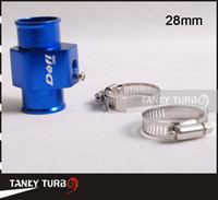 Wholesale Tansky Defi Water Temp Gauge Use a Commercial sensor attachment mm TK WT28 Aluminum